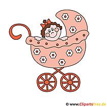 Kinderwagen Clipart