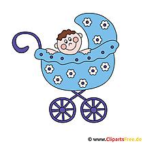 Kinderwagen gebraucht - Clip Art