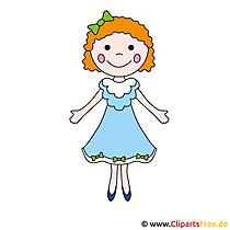 Kleine Prinzessin Clipart