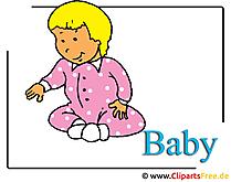 Baby Clipart free - KiGA Bilder
