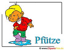 子供のクリップアート画像無料 - 秋の写真