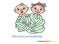 Kinder Illustration