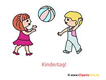 Kinder spielen Bilder