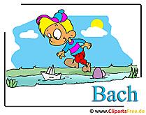 Kinder spielen Clipart-Bilder free
