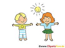子供たちはスポーツ画像、クリップアート、漫画、グラフィック、コミックを無料でやっています