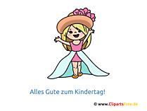 Kleine Prinzessin - Kinder Comic Bilder