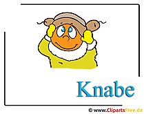 Knabe Bild-Clipart Kindergarten