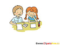 Krippe Bild, Clipart, Cartoon, Grafik, Comic gratis
