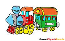 Clip art mainan lokomotif, gambar, ilustrasi
