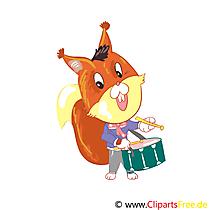 Music Clipart Drum