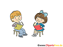 Musikunterricht im Kindergarten Bild, Clipart, Cartoon, Grafik, Comic gratis