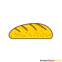 Chlebowy clipart, ilustracja, grafika, rysunek za darmo
