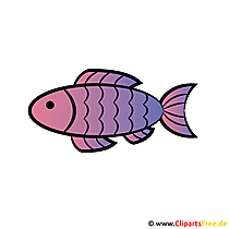 Cartoon Fish - Pas uitnodigingen voor de communie met gratis clipart
