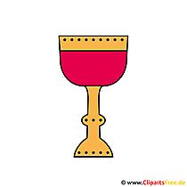 Clipart Communion - grafika do bezpłatnego drukowania