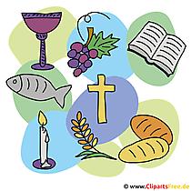Karten zur Kommunion selbst gestalten - Religio Unterricht