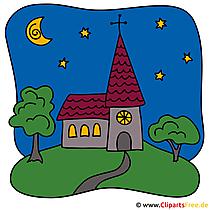 Clipart Kirche
