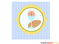 Konfirmation Glückwuensche Bild, Grafik, Illustration, Clipart