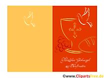 Konfirmation Illustrationen, Clipart, Glückwunschkarten