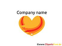 テンプレートを使って無料で会社のロゴを作成する