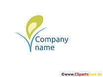 無料の会社のロゴのテンプレート