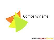 無料の会社のロゴ