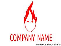 Logo-elementen en sjablonen