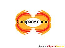 無料のロゴのテンプレート
