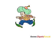 Geschichte vom Kleinen Muck Märchen-Bild, Illustration, Cartoon