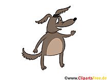Hund Clipart, Bild, Grafik