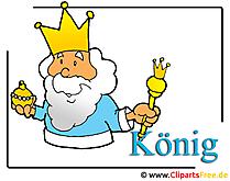 König Clipart-Bild free