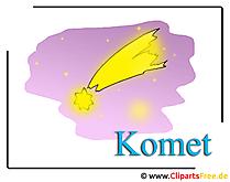 Komet Bild-Clipart gratis