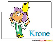 Krone Clipart-Bild kostenlos