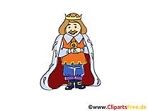 Märchenfigur König Bild, Illustration, Bild