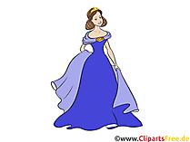 Mavi Prenses Küçük, genç, güzel, kız resimleri, clipart