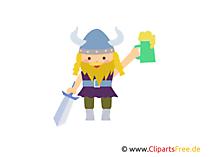 Viking Clipart, Image, Gif, Cartoon free