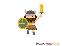 Vikingler gif, bedava küçük resim