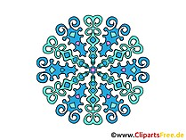 Mandalas Winter