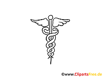 Alternativmedizin Clipart, Bild, Cartoon