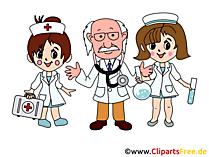無料で医師の医療スタッフの写真