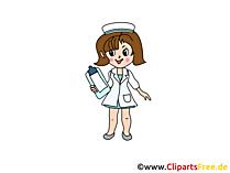 Clipart frei Krankenschwester