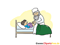 Çocuk hastanesinde clipart, resim, çizgi film