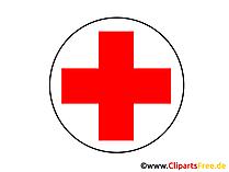 Kreuz rot Clipart, Bild, Grafik