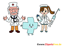 Komik tıp küçük resim, resim, çizgi film