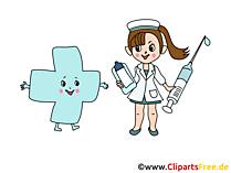 医学漫画、写真、グラフィック