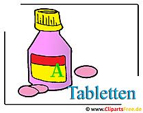 Tabletten Clipart free