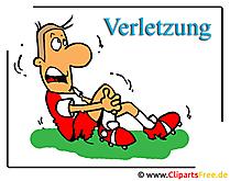 Spor yaralanma - Tıp Clipart ücretsiz