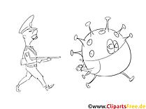 Virus billeder, cliparts, grafik