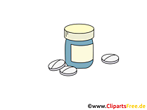 Vitaminen Clipart, Bild, Grafik