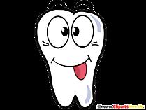 歯漫画のクリップアート