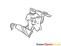 Zahnpflege Zeichnungen, Bilder, Cliparts